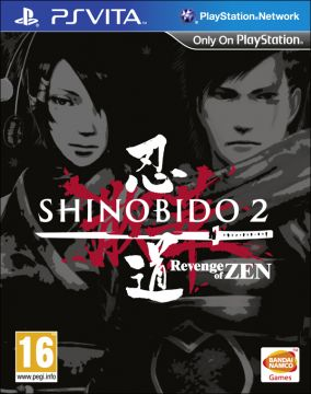 Copertina del gioco Shinobido 2: Revenge of Zen per PSVITA