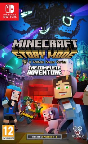 Copertina del gioco Minecraft: Story Mode per Nintendo Switch