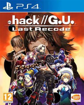 Copertina del gioco .hack//G.U. Last Recode per Playstation 4