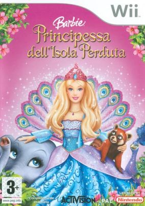 Copertina del gioco Barbie Island Princess per Nintendo Wii