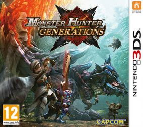 Copertina del gioco Monster Hunter Generations per Nintendo 3DS