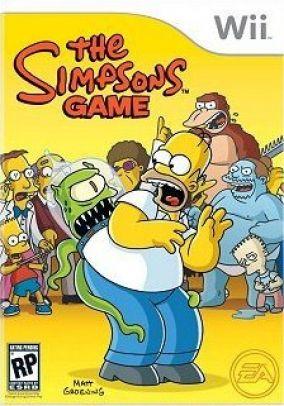 Immagine della copertina del gioco I Simpson - Il videogioco per Nintendo Wii