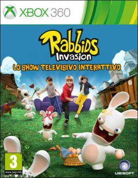 Copertina del gioco Rabbids Invasion: Lo show televisivo interattivo per Xbox 360
