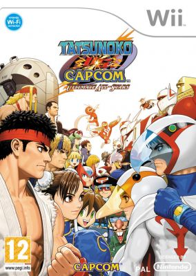Copertina del gioco Tatsunoko vs Capcom Ultimate All-Stars per Nintendo Wii