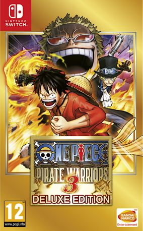 Copertina del gioco One Piece: Pirate Warriors 3 Deluxe Edition per Nintendo Switch