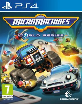 Copertina del gioco Micro Machines: World Series per Playstation 4