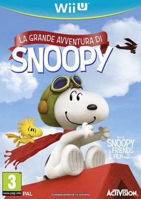 Copertina del gioco La Grande Avventura di Snoopy per Nintendo Wii U
