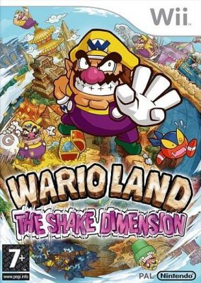 Copertina del gioco Wario Land: The Shake Dimension per Nintendo Wii