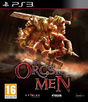 Copertina del gioco Of Orcs and Men per Playstation 3