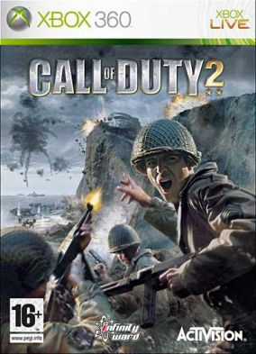 Copertina del gioco Call of Duty 2 per Xbox 360