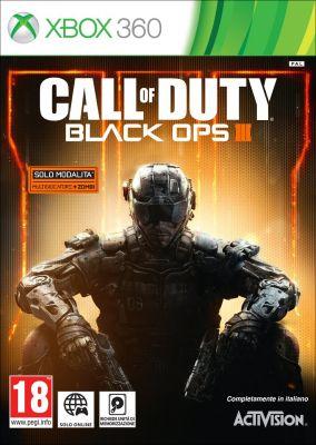 Copertina del gioco Call of Duty Black Ops III per Xbox 360
