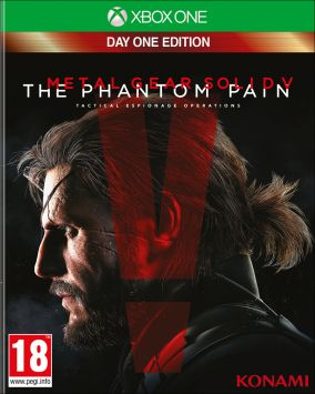 Immagine della copertina del gioco Metal Gear Solid V: The Phantom Pain per Xbox One
