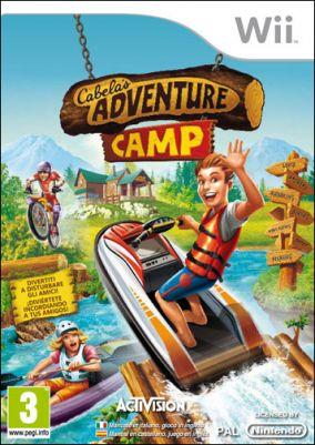 Copertina del gioco Cabela's Adventure Camp per Nintendo Wii