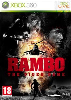 Copertina del gioco Rambo: The videogame per Xbox 360