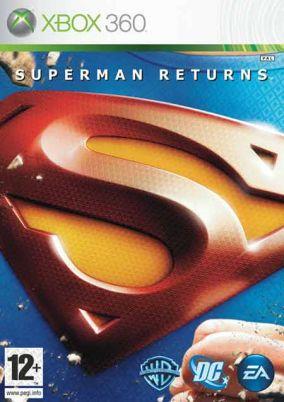 Immagine della copertina del gioco Superman Returns: The Videogame per Xbox 360