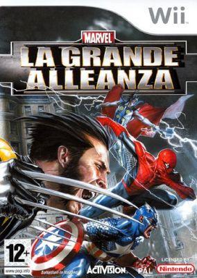 Immagine della copertina del gioco Marvel: La Grande Alleanza per Nintendo Wii
