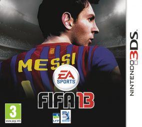 Immagine della copertina del gioco FIFA 13 per Nintendo 3DS