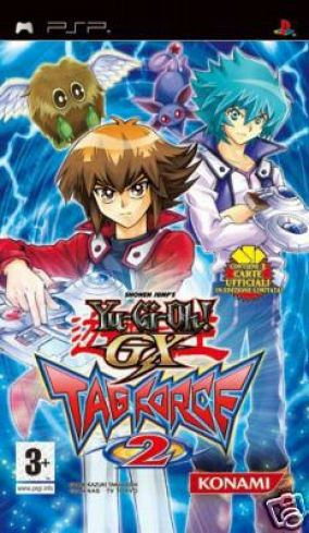 Copertina del gioco Yu-Gi-Oh! GX Tag Force 2 per Playstation PSP