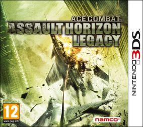 Copertina del gioco Ace Combat 3D: Assault Horizon Legacy per Nintendo 3DS