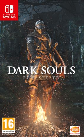 Copertina del gioco Dark Souls: Remastered per Nintendo Switch