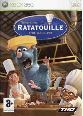 Copertina del gioco Ratatouille per Xbox 360