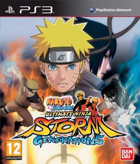 Copertina del gioco Naruto Shippuden: Ultimate Ninja Storm Generations per Playstation 3