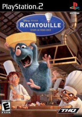 Copertina del gioco Ratatouille per Playstation 2