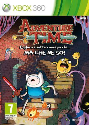 Copertina del gioco Adventure Time: Esplora i sotterranei perche'... MA CHE NE SO per Xbox 360