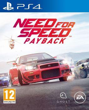Immagine della copertina del gioco Need for Speed Payback per Playstation 4