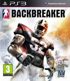 Copertina del gioco BackBreaker per Playstation 3