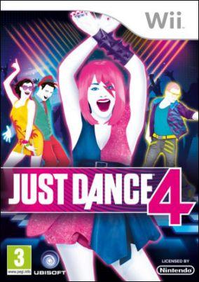 Copertina del gioco Just Dance 4 per Nintendo Wii