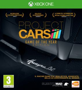 Copertina del gioco Project CARS Game Of The Year Edition per Xbox One