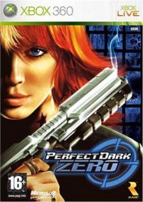 Copertina del gioco Perfect Dark Zero per Xbox 360