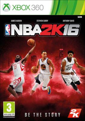 Copertina del gioco NBA 2K16 per Xbox 360