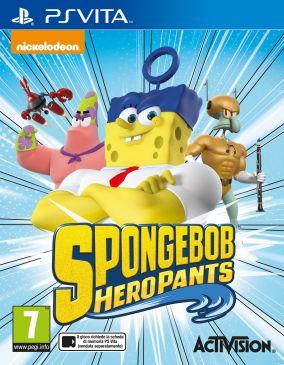Copertina del gioco SpongeBob HeroPants per PSVITA