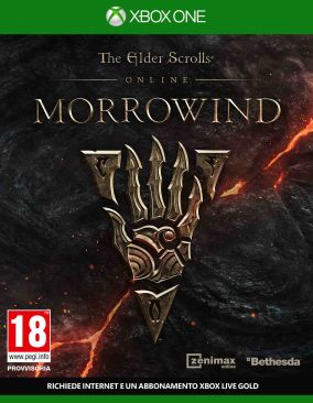 Copertina del gioco The Elder Scrolls Online: Morrowind per Xbox One