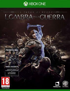 Copertina del gioco La Terra di Mezzo: L'Ombra della Guerra per Xbox One