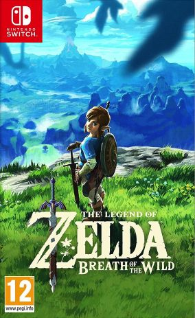 Copertina del gioco The Legend of Zelda: Breath of the Wild per Nintendo Switch