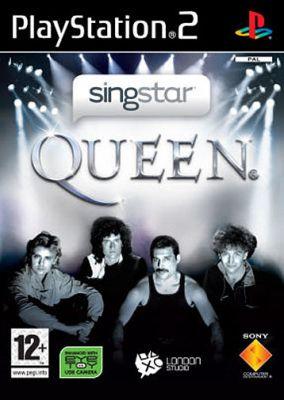 Immagine della copertina del gioco SingStar Queen per Playstation 2