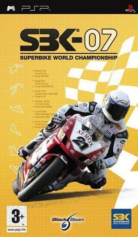 Copertina del gioco SBK 07 - Superbike World Championship per Playstation PSP