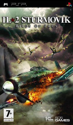 Copertina del gioco IL-2 Sturmovik: Birds of Prey per Playstation PSP