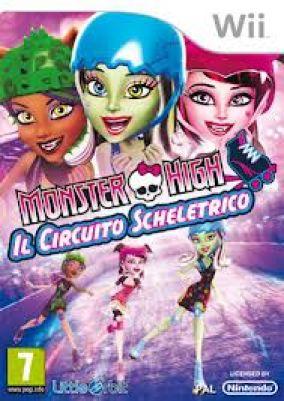 Copertina del gioco Monster High: Il Circuito Scheletrico per Nintendo Wii