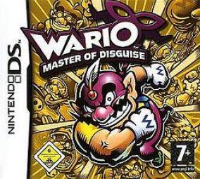 Copertina del gioco Wario: Master of Disguise per Nintendo DS