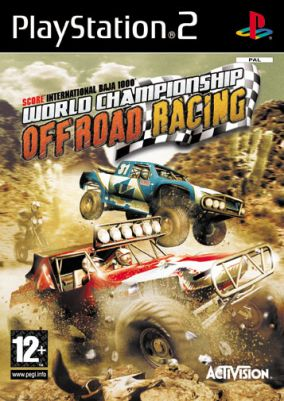 Copertina del gioco World Championship Off Road Racing per Playstation 2