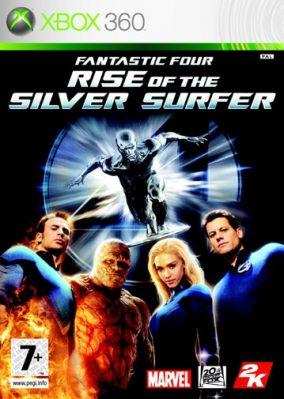 Copertina del gioco I Fantastici 4 The Rise of Silver Surfer per Xbox 360