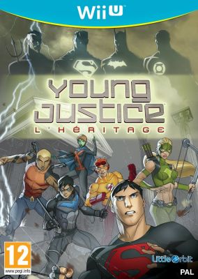 Copertina del gioco Young Justice: Legacy per Nintendo Wii U