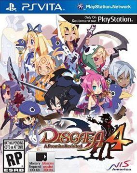 Copertina del gioco Disgaea 4: A Promise Revisited per PSVITA