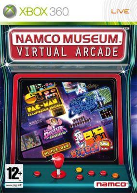 Copertina del gioco Namco Museum: Virtual Arcade per Xbox 360