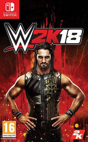 Copertina del gioco WWE 2K18 per Nintendo Switch