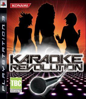 Copertina del gioco Karaoke Revolution per Playstation 3